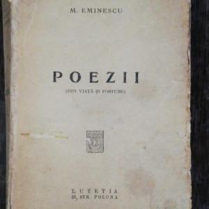 POEZII (DIN VIATA SI POSTUME) -MIHAI EMINESCU