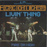 Electric Light Orchestra - Livin' Thing (1977, UAR) Disc vinil single 7""