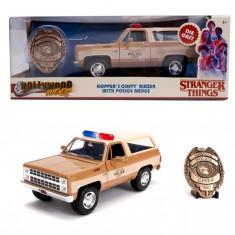 Macheta metalica 1980 Chevy Police K5 scara 1:24