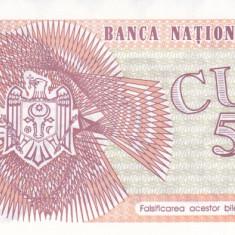 Bancnota Moldova 5.000 Cupon 1993 - P4 UNC