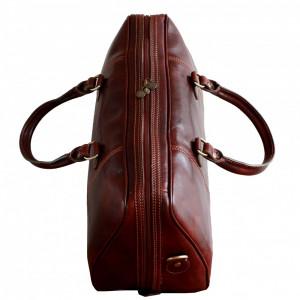 Geanta voiaj din piele naturala, geanta avion, GV108
