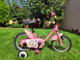 Bicicleta copii 3-6 ani cu roti ajutatoare   arhiva Okazii.ro