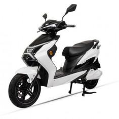 Scuter Electric LVNENG X1, Viteza Maxima 45 Km/h, Autonomie 80 Km, Motor 2.2 KW (Alb)