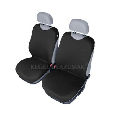 Set huse scaune fata tip maieu pentru Skoda Octavia, culoare Negru, 2 bucati foto