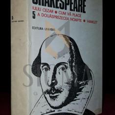 SHAKESPEARE W. - OPERE, VOLUMUL 5