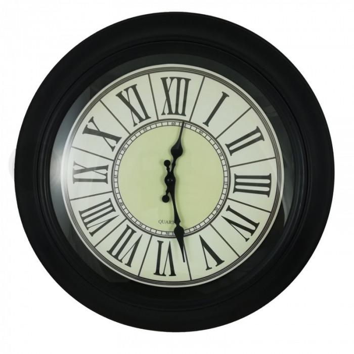 Ceas de perete Roman Black