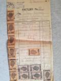 """Factură """"Forestiera Mădăraș"""", Pantelimon 159, depozit cherestea, Bucuresti"""