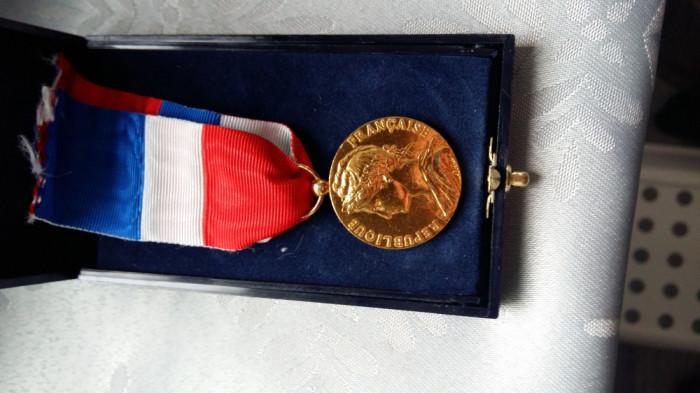 Medalie la republique francaise ministere du travaille