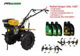 Cumpara ieftin Pachet motocultor Campo 1303, benzina, 13CP, 2+1 trepte, ulei motor si transmisie incluse