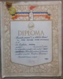 Diploma + medalie locul I, Cantarea Romaniei/Vasile Celmare, pictura monumentala