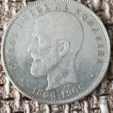 5 lei 1906 - Comemorativa, Ag .900