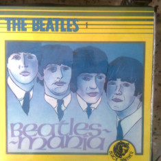 Vinil (vinyl) - The Beatles 1 - Beatlesmania (Electrecord; lic. Black Panther)