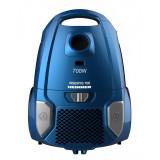 Aspirator cu sac Heinner, 700 W, 3 l, filtru HEPA, sac textil, tija telescopica, duza inclusa, Albastru
