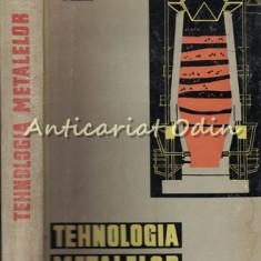 Tehnologia Metalelor - T. Negrescu, N. Cristofor, V. Killman, M. Tanasescu