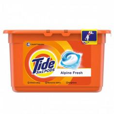 Capsule de detergent TIDE Automat Alpine Fresh 12x 24.8g