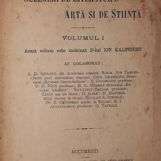 OMAGIU LUI ION KALINDERU - A . D . XENOPOL , ION TANOVICEANU