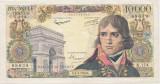 FRANTA 10000 FRANCS FRANCI BONAPARTE 6-3-1958 F