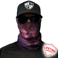 Bandana/Face Shield/Cagula/Esarfa - Galaxy, made in USA