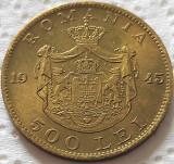 Moneda istorica 500 LEI - ROMANIA REGAT, anul 1945   *cod 5354 = A.UNC
