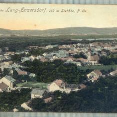 AD 329 C. P. VECHE - SOMMERFRISCHE LANG-ENZERDORF, 169 M SEEHOHE- AUSTRIA -1913