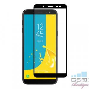 Geam Protectie Display Samsung Galaxy J6 J600 2018 Acoperire Completa 2,5D Negru