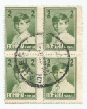 România, LP 77e/1928, Mihai I, mare, f. fil., 2 lei, dant. depl., eroare 1, obl.