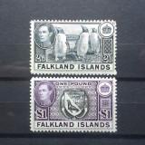 FALKLEND IS.-MVLH-1938-HCV+220 LIRE STERLINE, Nestampilat