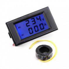 APARAT de MASURA pt. voltaj si amperaj + SUNT 300V - 100Amp curent alternativ