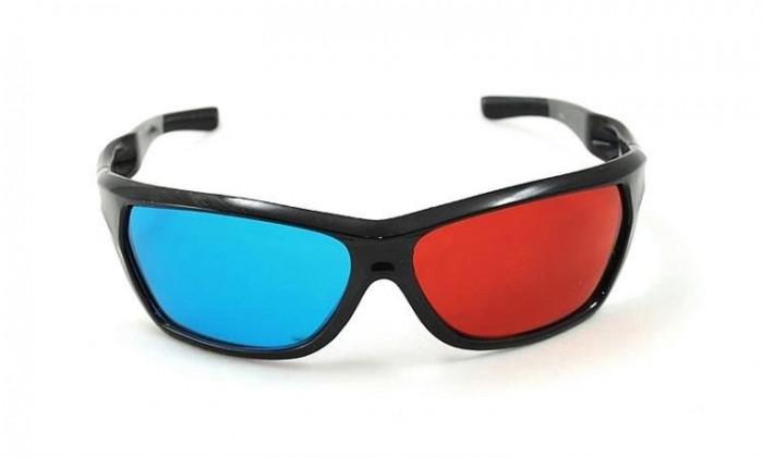 Ochelari 3D red-cyan -  marime universala