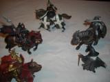 Schleich - lot 5 cavaleri medievali