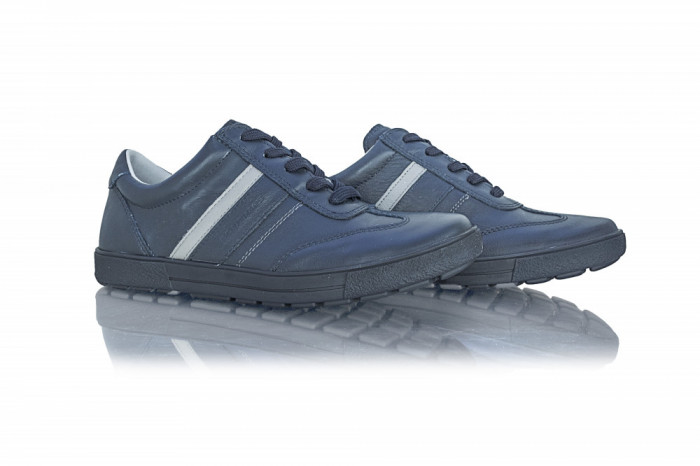 Pantofi barbati Bontimes piele naturala BIT-5216-BL
