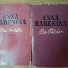 ANNA KARENINA VOL. I - II de L. N. TOLSTOI , 1959