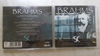 [CDA] Brahms - Spectacular classics - cd audio original foto