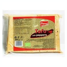Tofu Bio cu Ardei (folie vacuum) Soyavit 200gr Cod: sv09