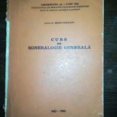 Curs de mineralogie generala- Mihai Oniceanu