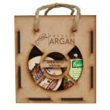 Cumpara ieftin Set cadou RUSTIC ARGAN (Ulei argan FRAICHEUR 60 ml + Crema NAGOYA 100 ml + Sapun ARGANA 40 gr)