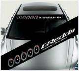 Sticker parasolar auto GREDDY (126 x 16cm), 4World