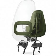 Paravant pentru scaun de bicicleta ONE Bobike, Olive/Verde