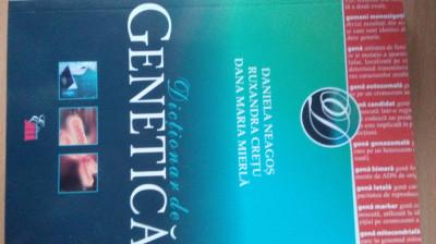 Dictionar de genetica -Daniela Neagos foto