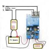 REGULATOR de incarcare ptr. REDRESOR sau INCARCATOR de baterie de masina de 24V, Universal