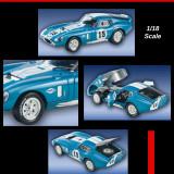 Macheta Shelby Daytona Coupe Guardsman - 1965 - American Mint scara 1:18