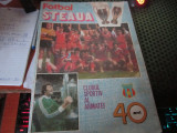 fotbal steaua editie omagiala 40 ani cu poster h 25