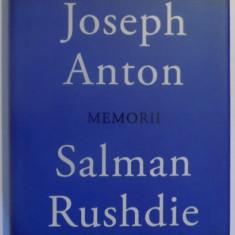 MEMORII SALMAN RUSHDIE de JOSEPH ANTON , 2012