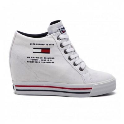 Pantofi sport Tommy Hilfiger NICE WEDGE foto