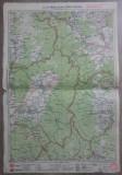 Targul Ocna-Targul Secuiesc// harta lito 1927, M. D. Moldoveanu