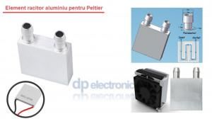 Element racitor aluminiu CPU Peltier