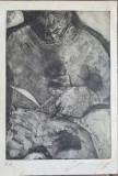 SUPERCONTEMPORAN– GRAVURA 2, Nonfigurativ, Cerneala, Altul