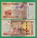 = UGANDA - 1000 SHILLINGS – 2017 - UNC     =