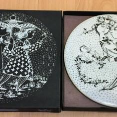 Placa ceramica / Tablou - portelan Bavaria - Rosenthal - Martie