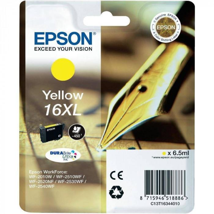Cartus cerneala Epson T1634 Yellow 16XL 6.5 ml
